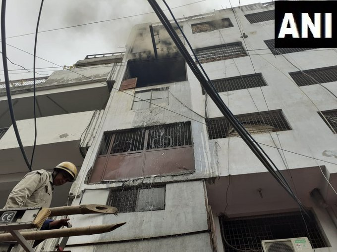 Fire breaks out at shoe factory in Lawrence Road, 26 fire tenders on spot