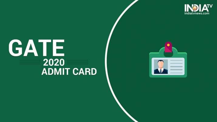 GATE 2020 Admit Card, GATE 2020 hall ticket, download gate 2020 hall ticket, direct link to download
