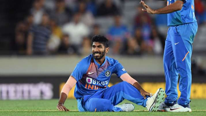 Image result for Bumrah injury vs NZ