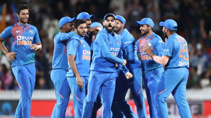 India's domination against New Zealand on their own