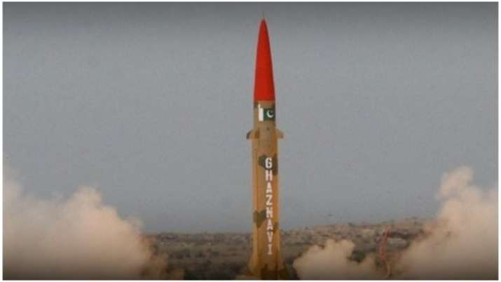 Pakistan conducts test launch of ballistic missile Ghaznavi