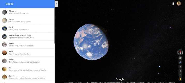 India Tv - Google Maps,Google,Earth,Solar system, mars, moon, Hyperspace Animation, star wars, how to, how to u
