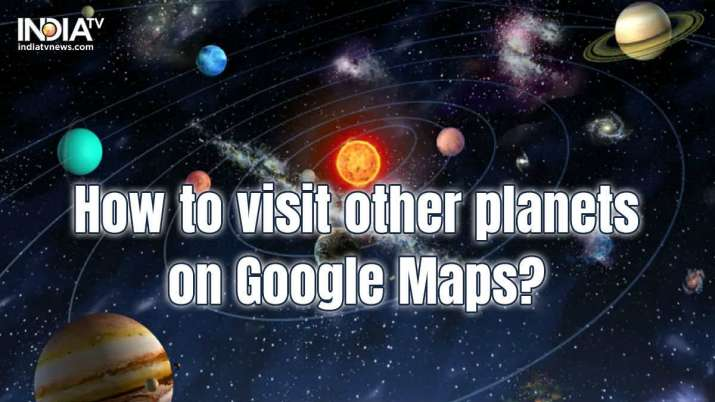 Google Maps,Google,Earth,Solar system, mars, moon, Hyperspace Animation, star wars, how to, how to u