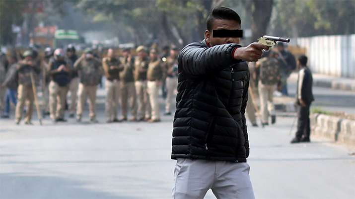 Jamia shooter identified, a resident of Greater Noida