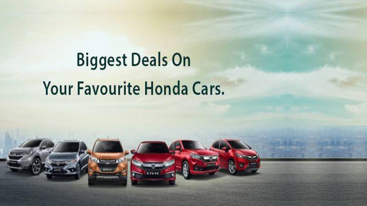 Honda Offers Benefits Upto Rs 5 Lakhs On Cars Including Civic Cr V Check Details Honda News India Tv