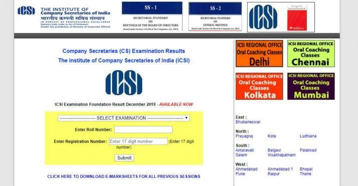Manya Shrivastava, cs foundation result dec 2019, cs foundation result, icsi result, www.icsi.edu, c