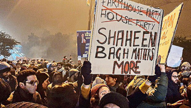 AAP 'sponsoring' Shaheen Bagh protest, running 'proxy' campaign: BJP to EC