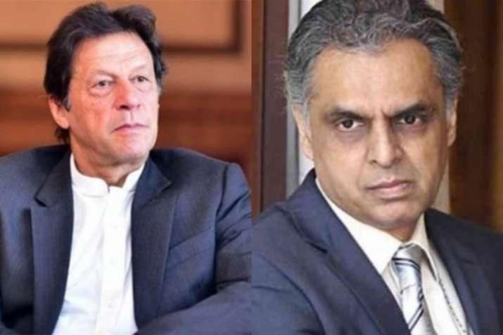Pak PM Imran Khan and India's permanent representative to