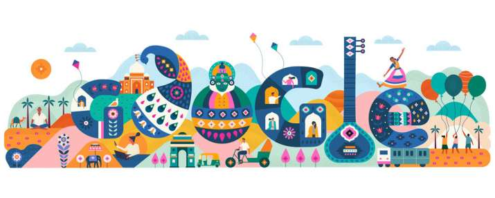 India Tv - Google Doodle marks 71st Republic Day 2020