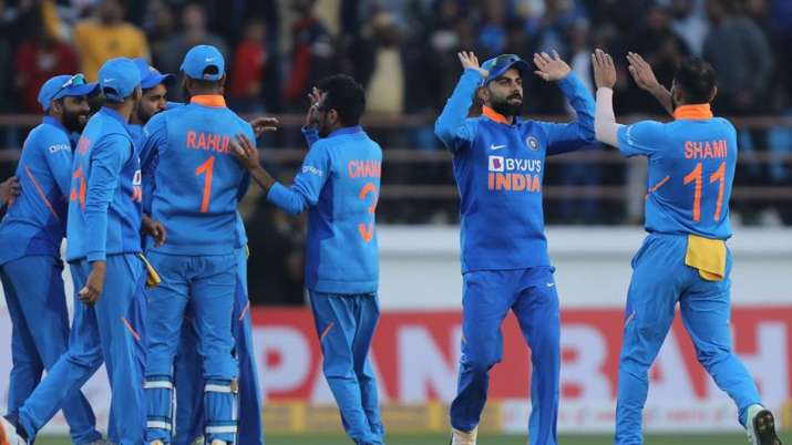 India came from behind in some style in Rajkot as the hosts beat Australia by 36 runs at the Saurash