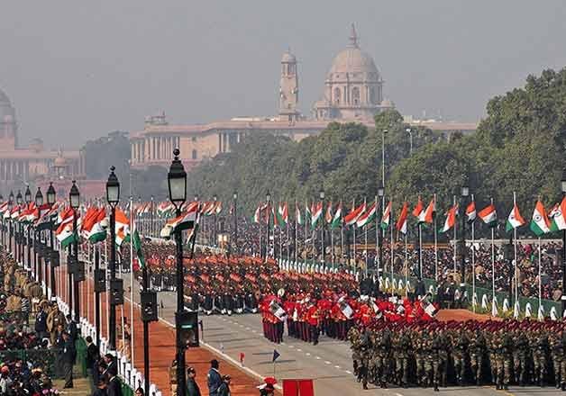 R-Day Parade Rehearsals, republic day parade rehearsals, delhi traffic advisory for R-Day parade reh