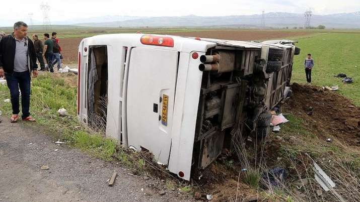 Road accident in Iran kills 19 people, injures 24