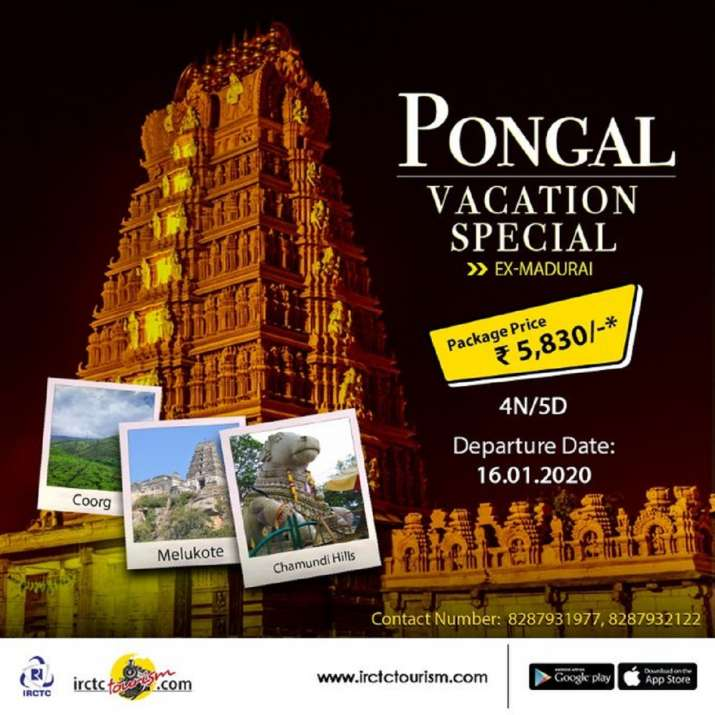 IRCTC's Pongal Vacation Special has 6 destinations covered