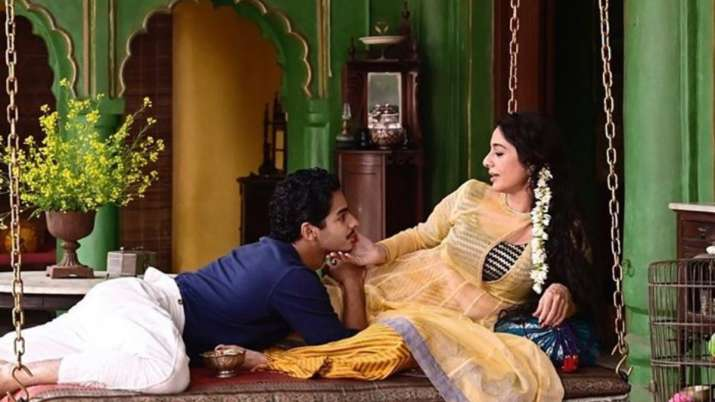 Ishaan Khatter talks about romancing Tabu in Mira Nair's A Suitable Boy