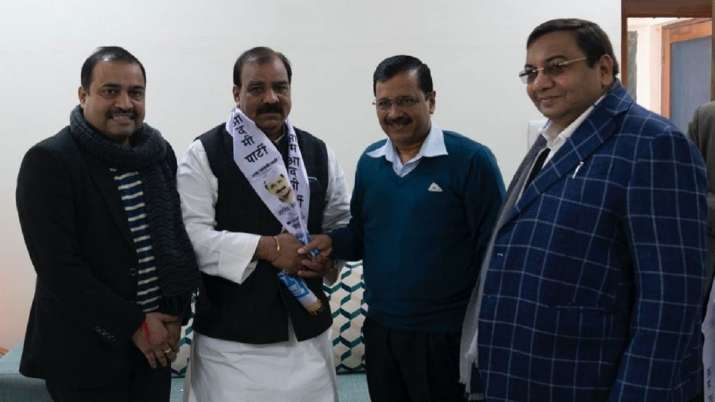 Delhi Congress' Jagdish Yadav joins AAP