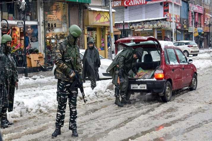 Man found dead inside parked car in Jammu