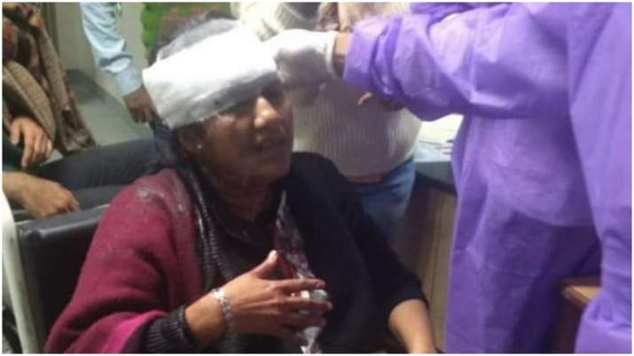 India Tv - JNU's Professor Sucharita Sen was injured in the attack