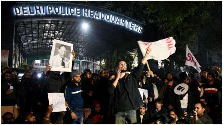 JNU violence latest updates