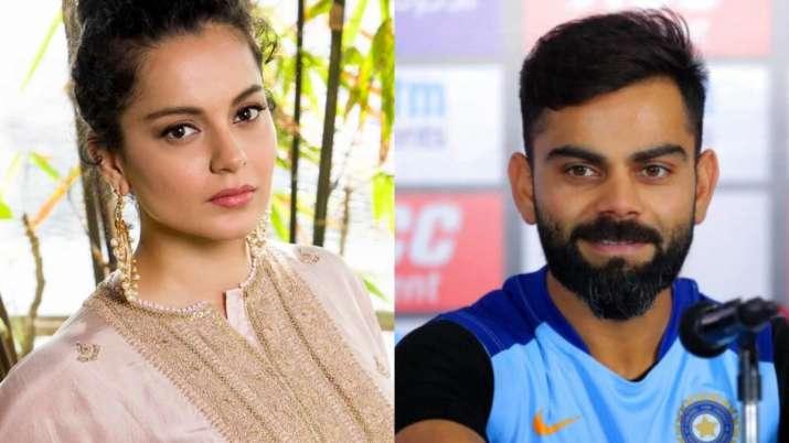 Kangana Ranaut calls Virat Kohli Panga King of Team India