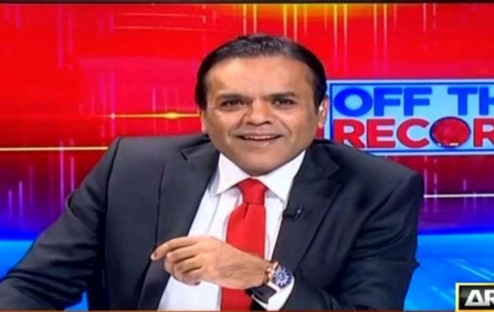 Pakistani news anchor Kashif Abbasi's show banned for 60 days after Federal Minister's boot stunt