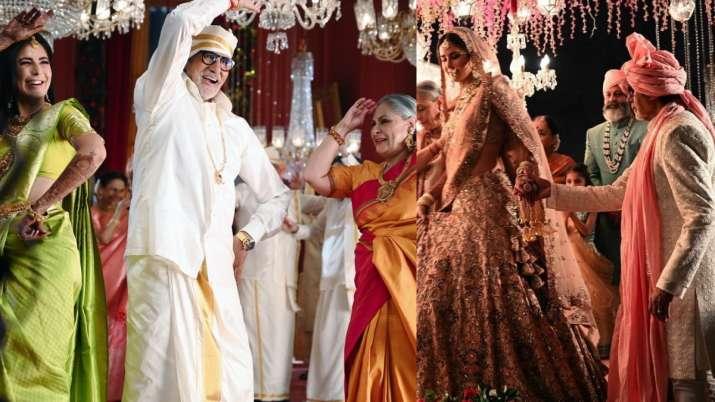 Amitabh Bachchan, Jaya perform Katrina Kaif's 'kanyadaan' and their photos will take your breath awa