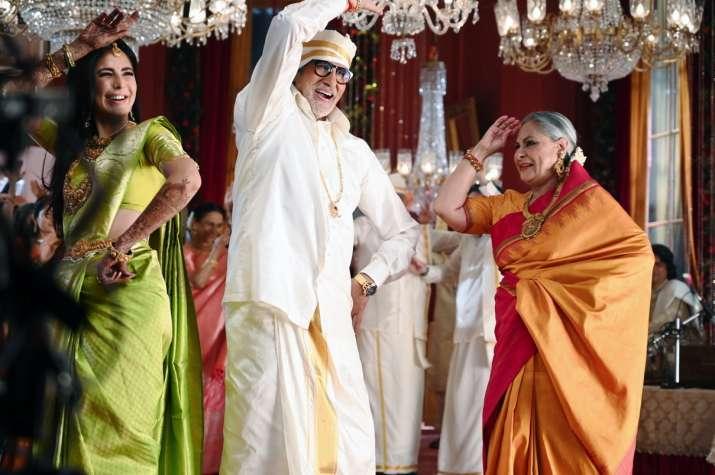 India Tv - Katrina, Big B and Jaya Bachchan in ad