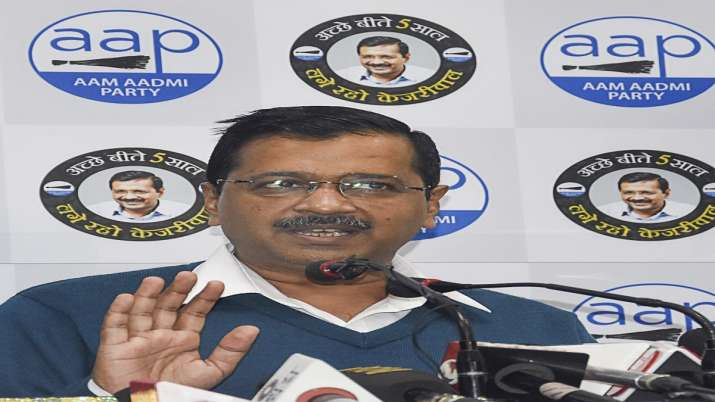 AAP will fight Delhi Assembly election on basis of its govt's work: Kejriwal