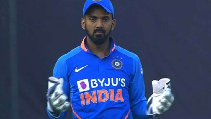 KL Rahul fills in as wicketkeeper for 1st ODI against