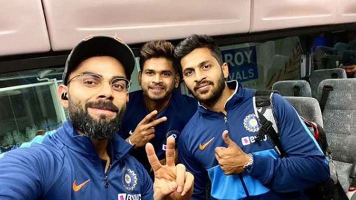 Touchdown Auckland: Virat Kohli shares photo with teammates after reaching New Zealand