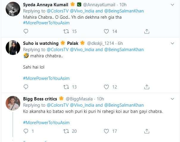 India Tv - Channel calls Mahira Sharma as Mahira Chhabra, gets trolled