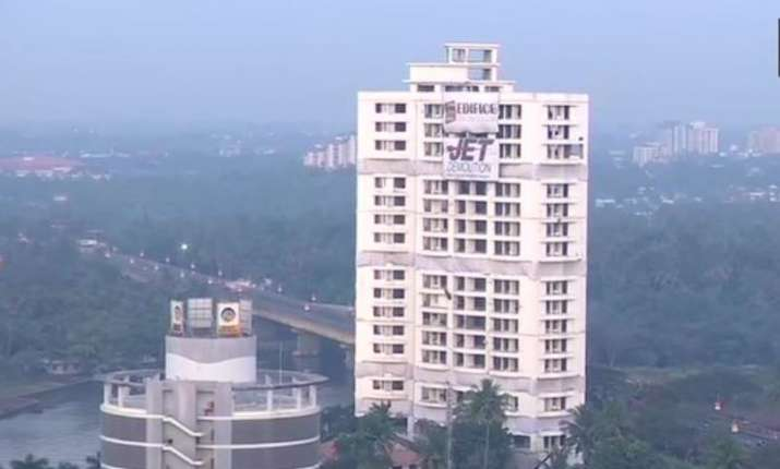 Demolition of illegal Maradu flats to begin today, Section 144 to be imposed in the area