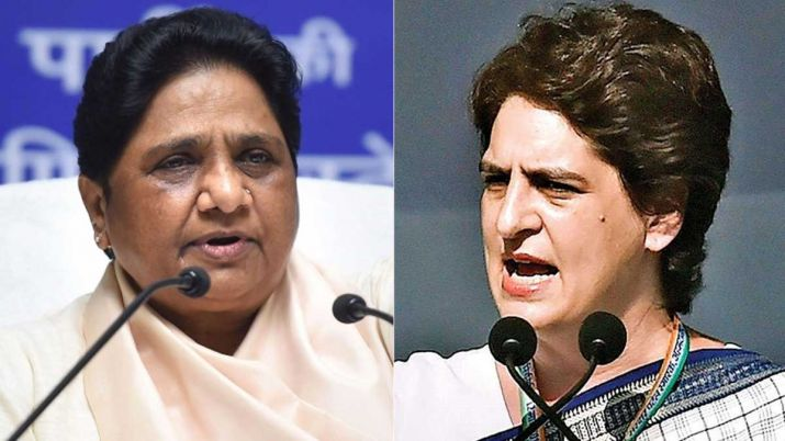 Why didn't you go to Kota? Mayawati asks Priyanka