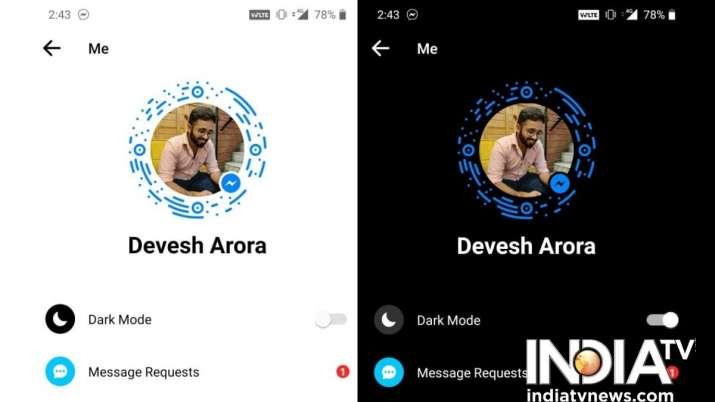 India Tv - fb messenger