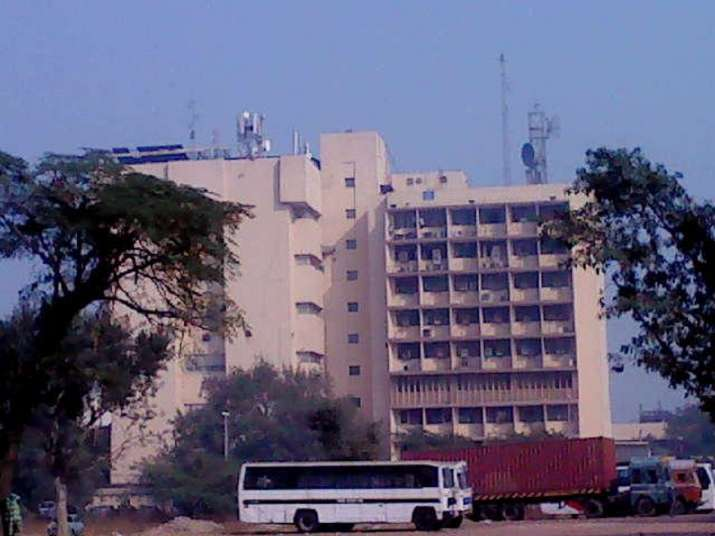 A file photo of MTNL's Nehru Place exchange