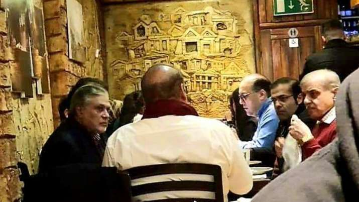 Ex-Pak PM Nawaz Sharif's UK restaurant pic goes viral;