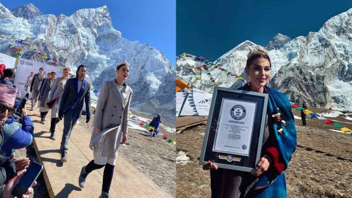 Nepal creates Guinness World Record for highest altitude fashion show event