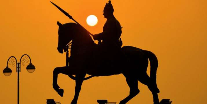 India Tv - Ajmer: The sun rises for the first time for the year 2020 at Maharana Pratap Smarak in Ajmer, Wednes