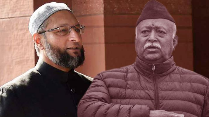 Outraged Owaisi lashes out at RSS chief Mohan Bhagwat over