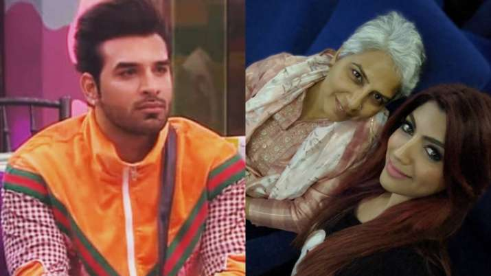 Paras Chhabra S Mother Watches Movie With His Girlfriend
