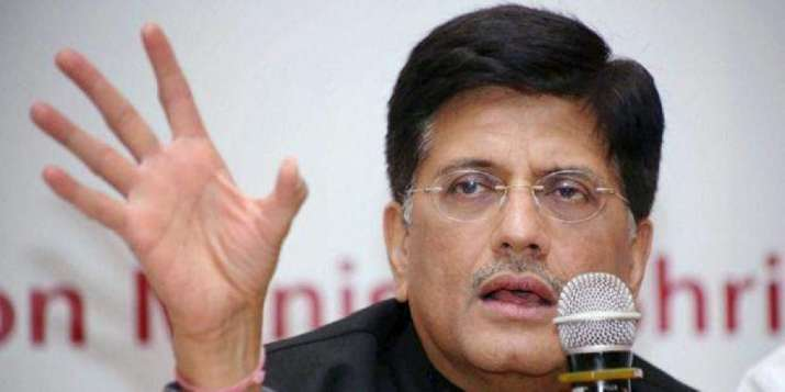 A file photo of Union Commerce minister Piyush Goyal