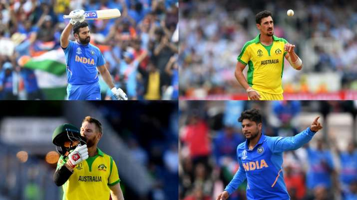 IND vs AUS   From Rohit vs Starc to Warner vs Kuldeep: Top players lock horns in battle of supremacy