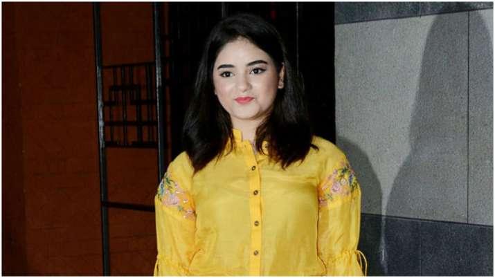 Zaira Wasim molestation case