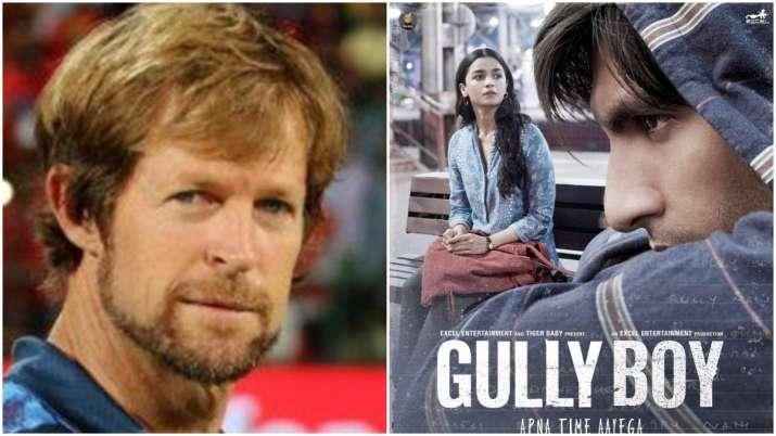Jonty Rhodes lauds Ranveer Singh, Alia Bhatt starrer Gully Boy, says the film gave him 'goosebumps'