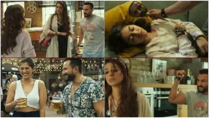 Saif Ali Khan's playboy avatar, Tabu's quirkiness and Alaya's charm are unmissable in Jawaani Jaanem