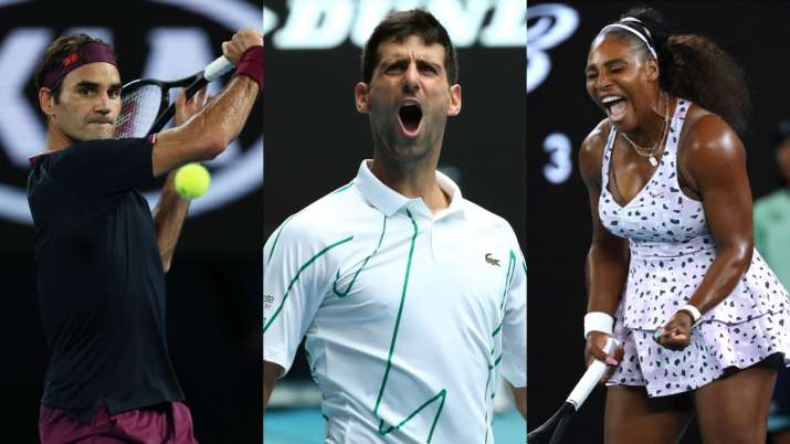 Australian Open 2020 Roger Federer Novak Djokovic And Serena Williams In Action On Day 5 Tennis News India Tv