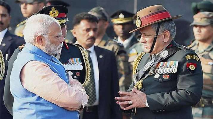 As Gen Bipin Rawat takes charge as CDS, PM Modi says institution reflects hopes of 1.3 bn Indians