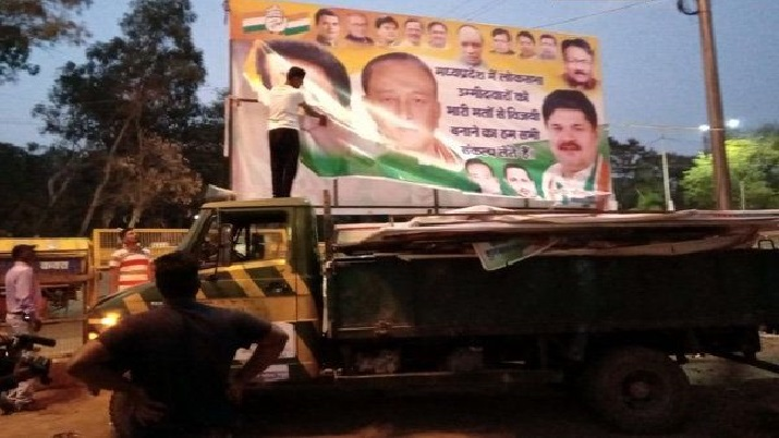 65,000 posters, hoardings removed in compliance with poll