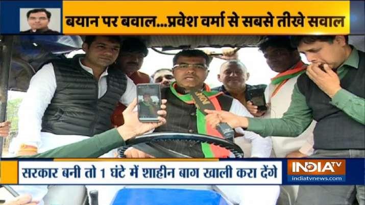 BJP MP Parvesh Verma