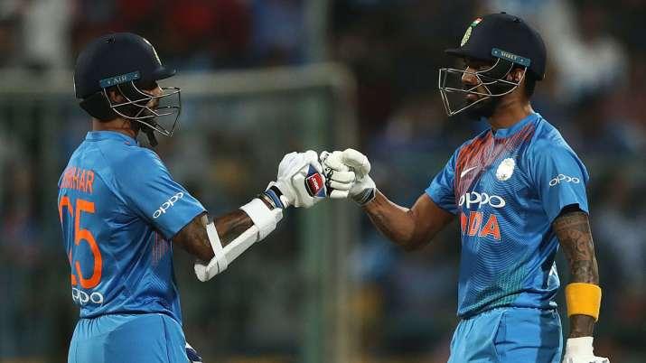 India Tv - KL Rahul and Shikhar Dhawan