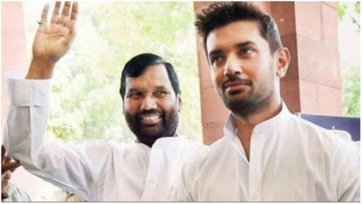 Delhi Elections 2020 Ram Vilas Paswan Led Ljp Releases List Of 15 Candidates Elections News India Tv